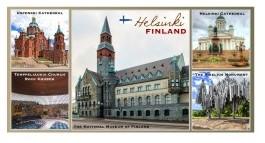 Магнит Helsinki коллаж