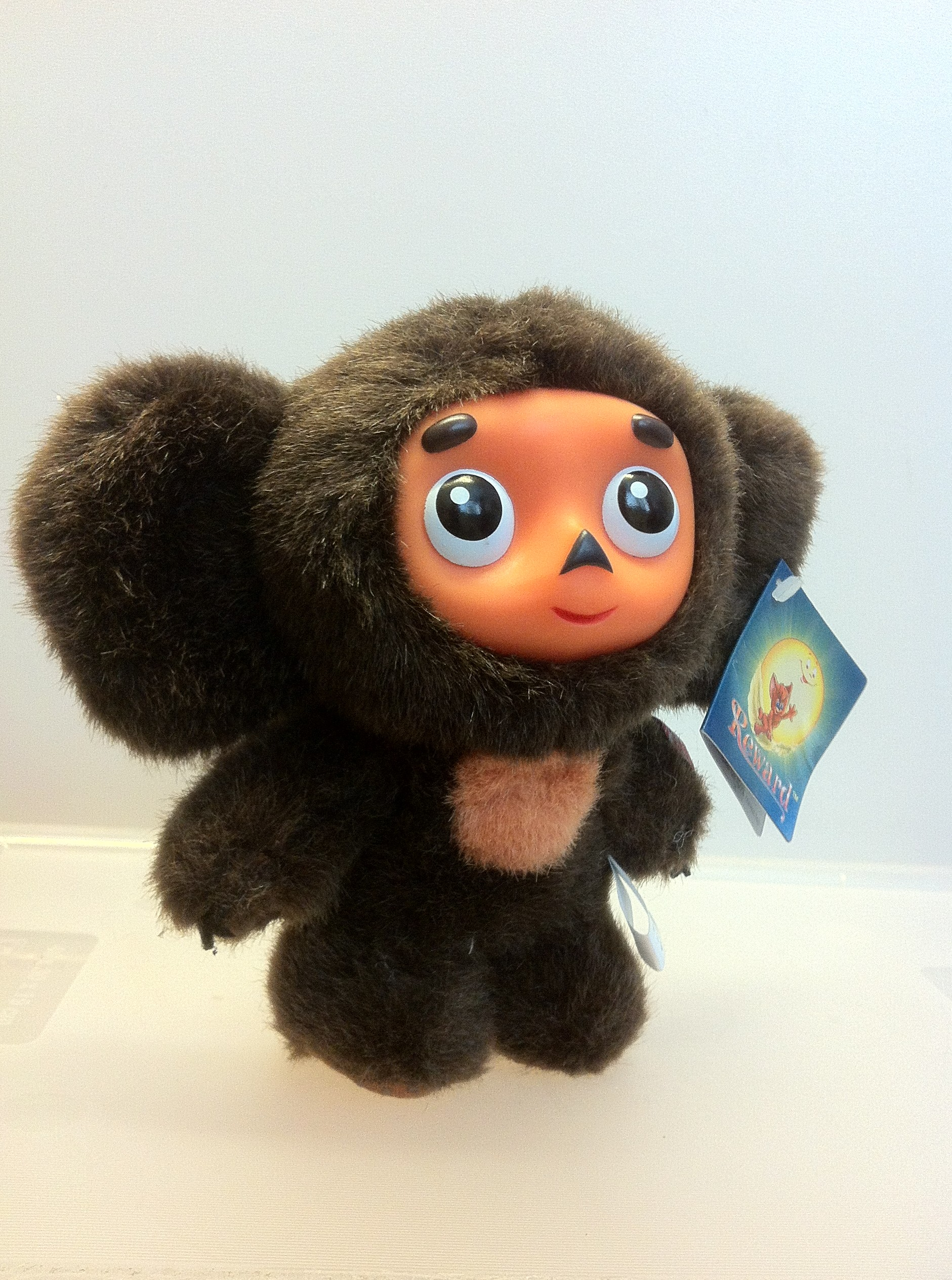Speaking soft toy, Cheburashka. 17 sm