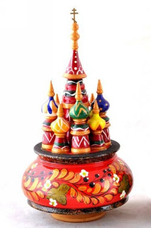 Music box St. Basil Cathedral (Art. 780)