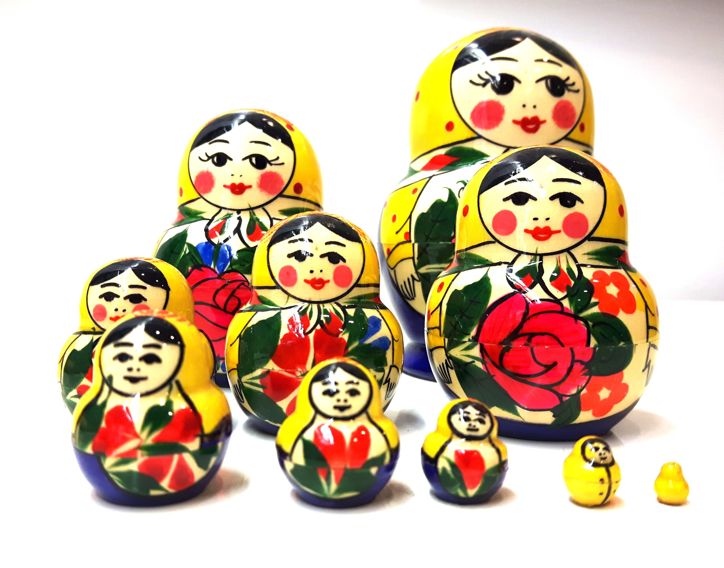Matrjoshka Semenovskaja - Katjusha, 10 pieces