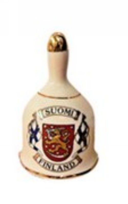 Porcelain bell - Flags and Coat of Arms