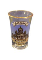 Souvenir shot glass - Cathedral