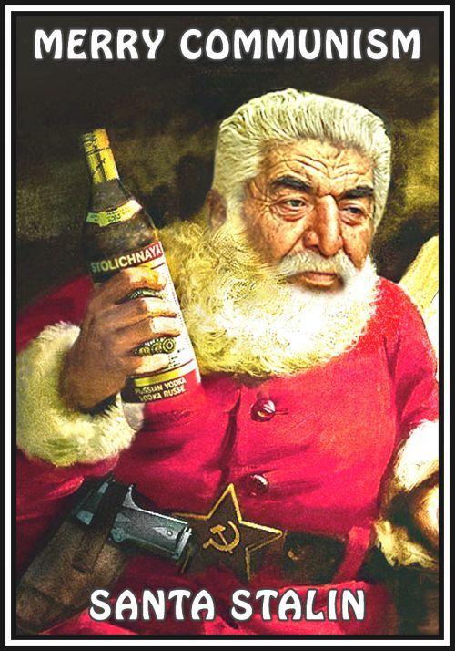 Matches. Merry Communism. Santa Stalin