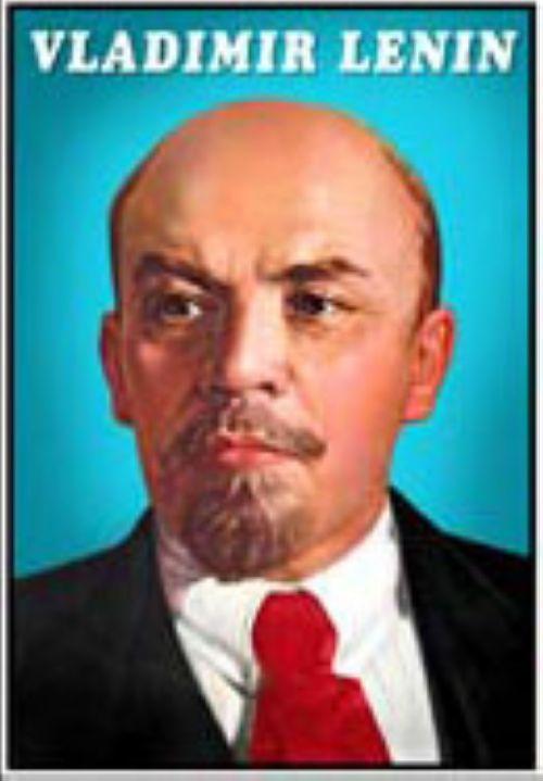 Спички. Владимир Ленин