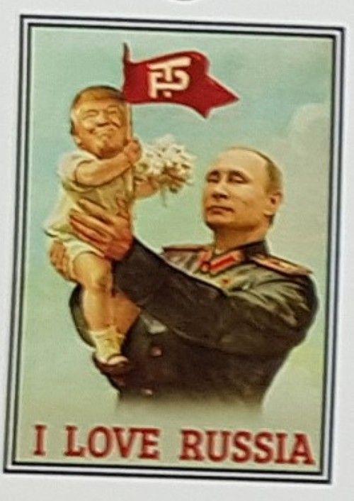 Спички. I Love Russia