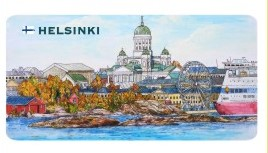 Магнит: Helsinki.