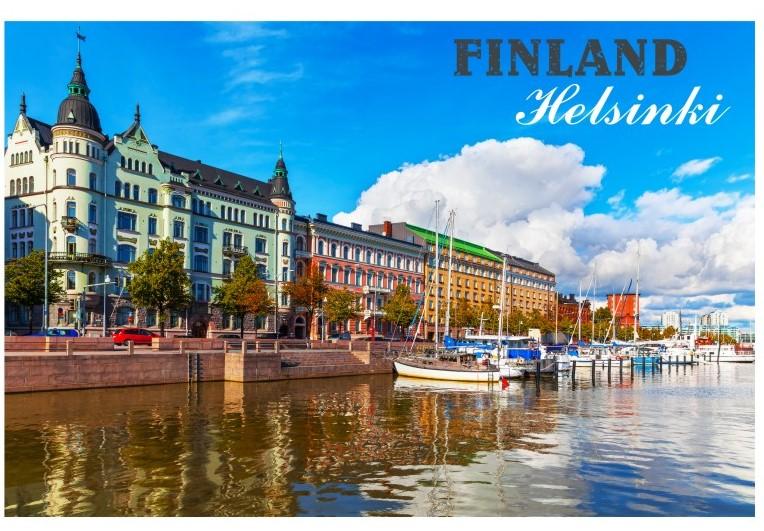 Magnet: Helsinki FINLAND