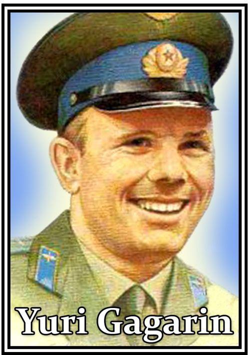 Matches. Yuri Gagarin