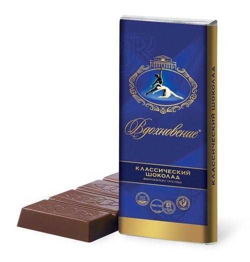 Шоколад Вдохновение Классический. 60g