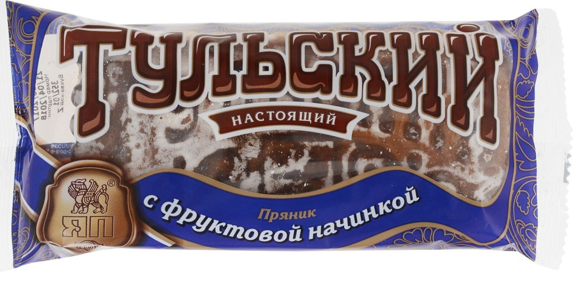 Tula gingerbread with fruit filling, 140 g