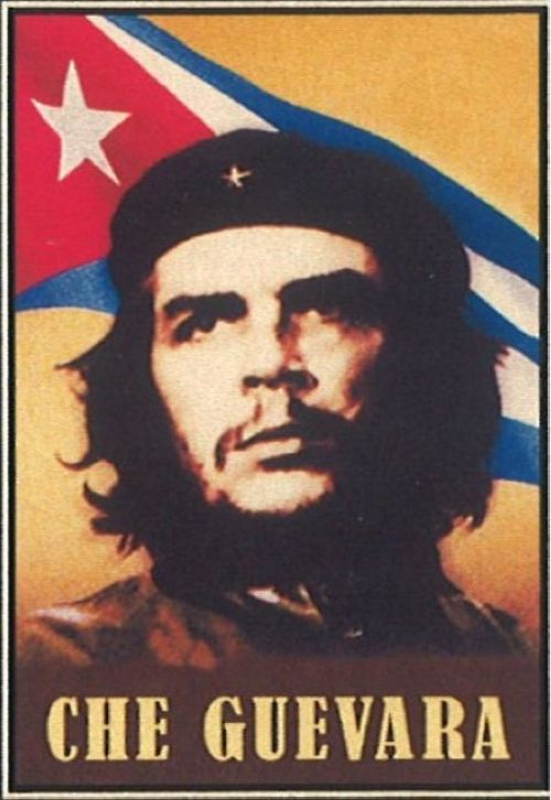 Matches. Che Guevara (with flag)