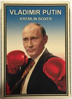 Vladimir Putin Kremlin boxer Спички