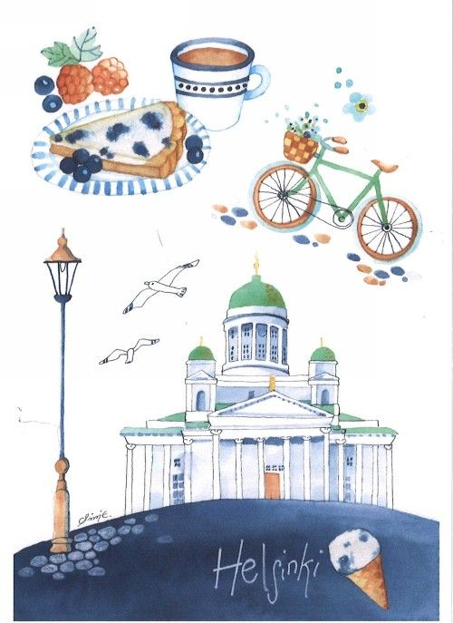 Post card -Helsinki
