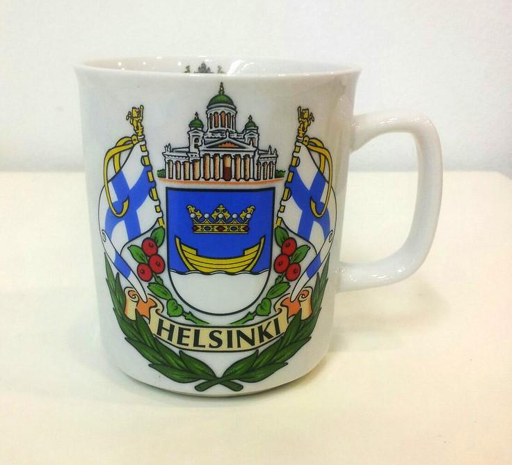 Souvenir Ceramic Mug - Helsinki