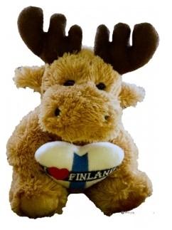 Soft toy Elk 12cm