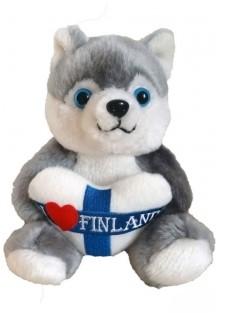 Soft toy Husky 24 cm