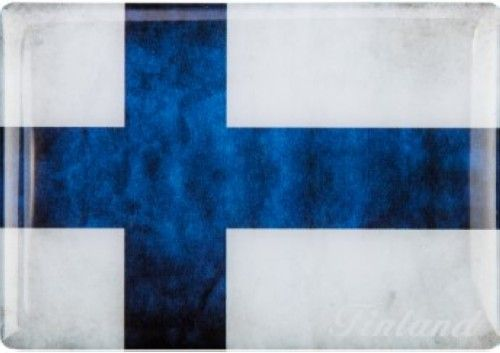 Magnet - Flag of Finland Picture magnet