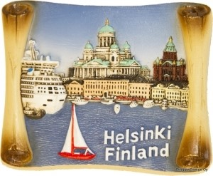 Ceramic Magnet - Marine Helsinki