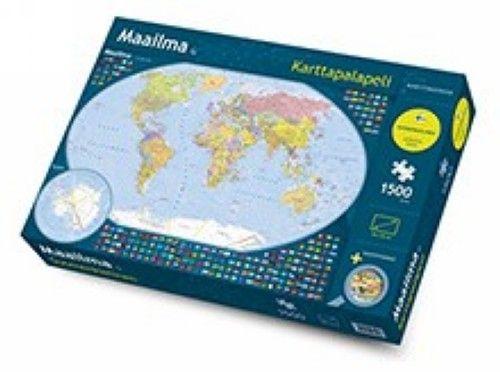 Maailma palapeli (1500 palaa)
