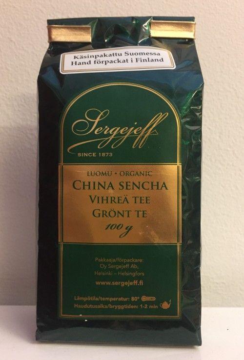 China Sencha Vihreä tee / Grönt Te / Зеленый чай сенча / Green tea