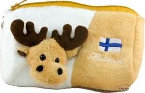 Plush wallet Elk