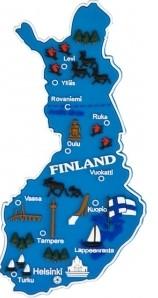 Suomen Kartta Kumimagneetti