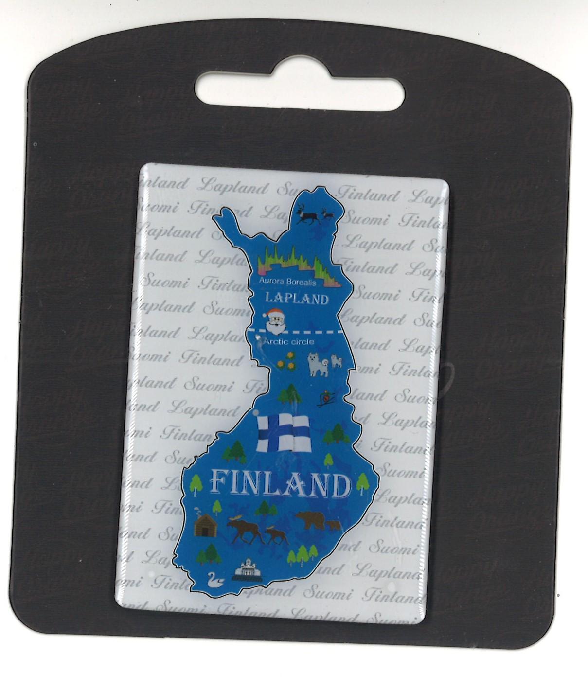 Магнит Карта Финляндии