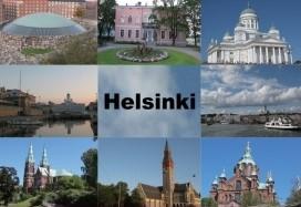 Mагнит плоский Хельсинки