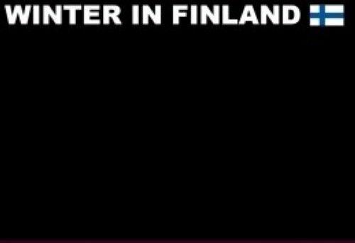Магнитик Зима в Финляндии