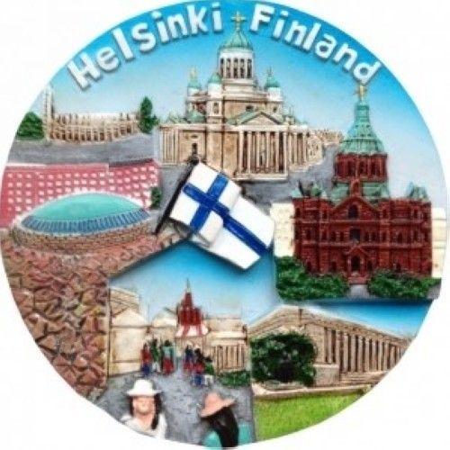 Magnet Ceramic Round Helsinki