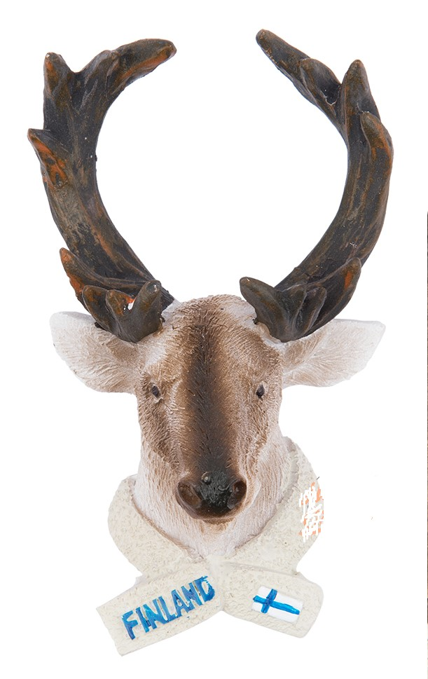 Ceramic Magnet Deer Head