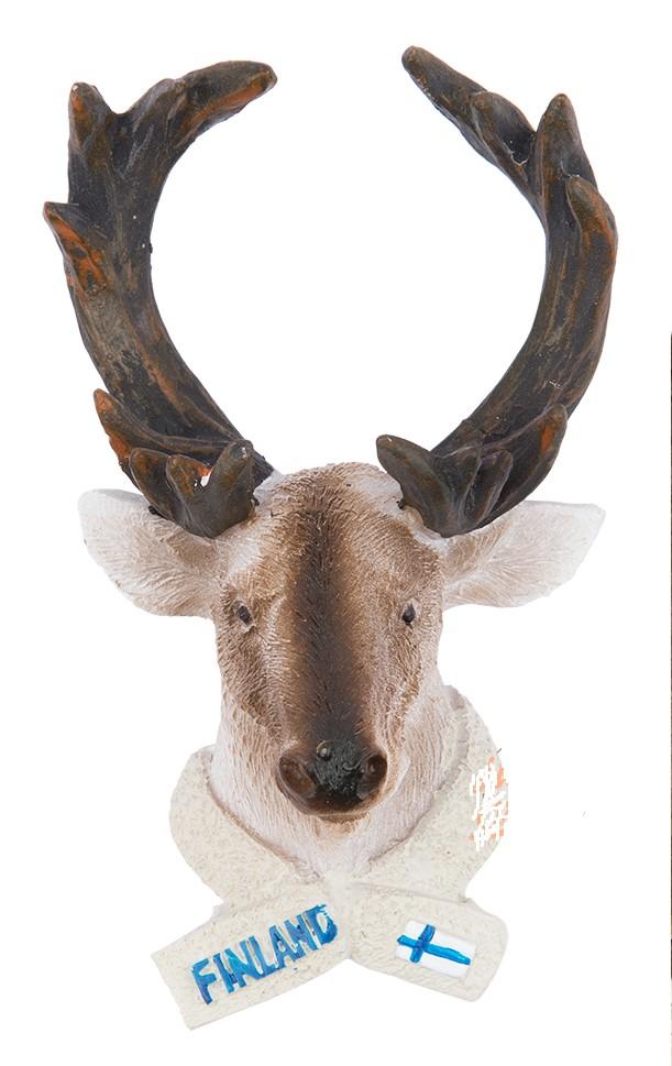 Магнит керамический Голова Оленя