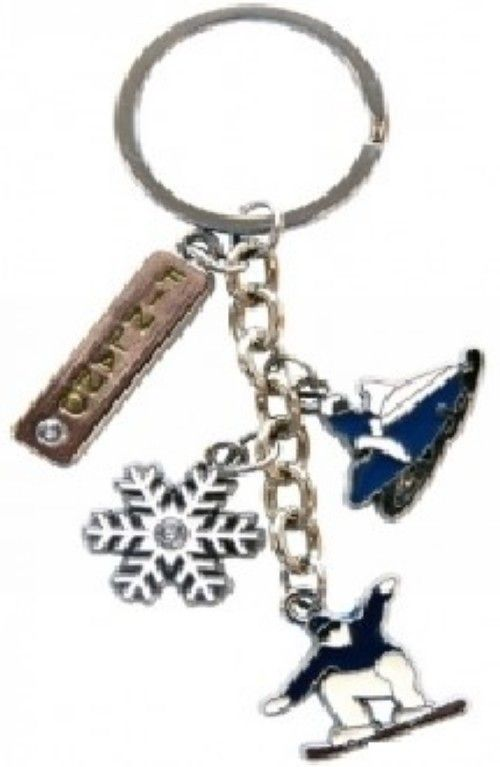 Keychain Winter Pendant