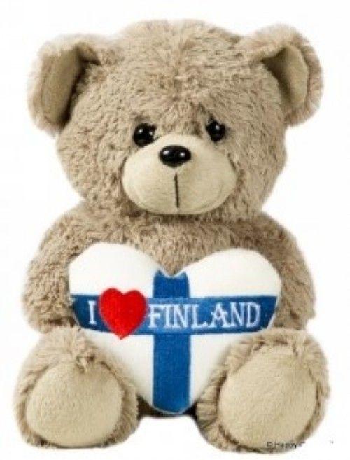 Teddy bear 18 cm