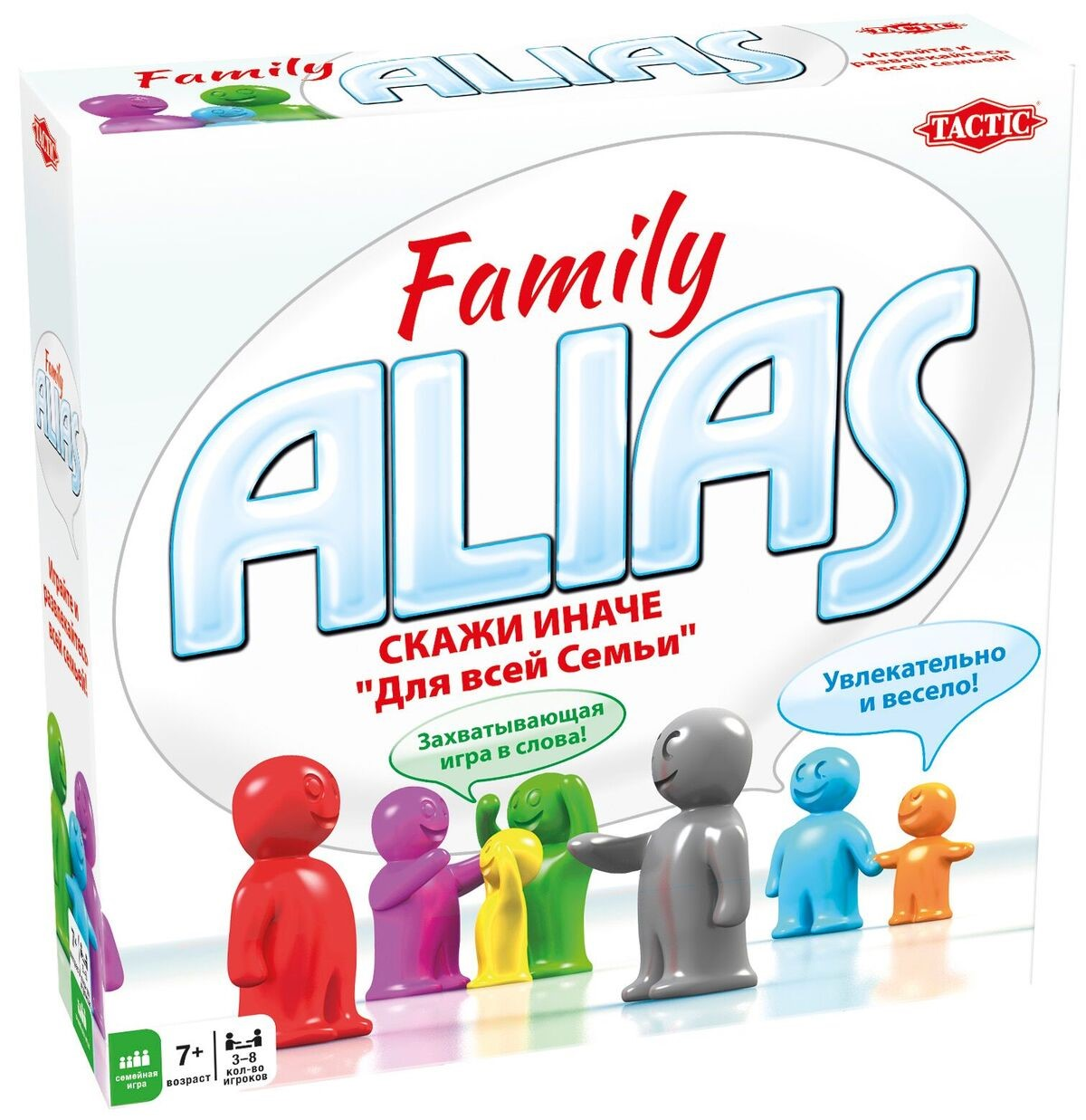 Board game Alias Family in russian 7+