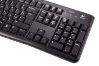 Проводная мультимедийная клавиатура Logitech K120 EN/RUS, USB
