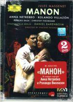 Massenet: Manon Anna Netrebko, Rolando Villazon; Staatskapelle Berlin, Barenboim (2 DVD )