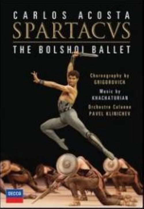 "The Bolshoi Ballet ""Spartacus"" Choreography by Grigorovich, Orchestre Colonne, Pavel Klinichev (2 DVD)"