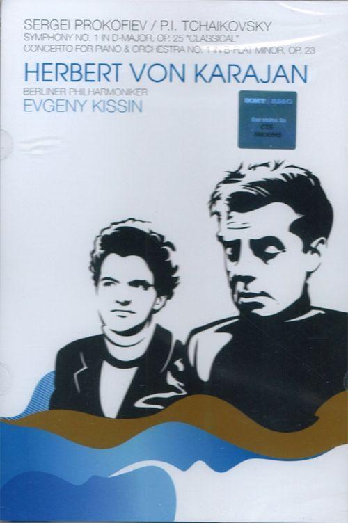 Herbert Von Karajan, Evgeny Kissin  - Prokofiev Symphony No. 1 & Tchaikovsky Piano Concerto No. 1