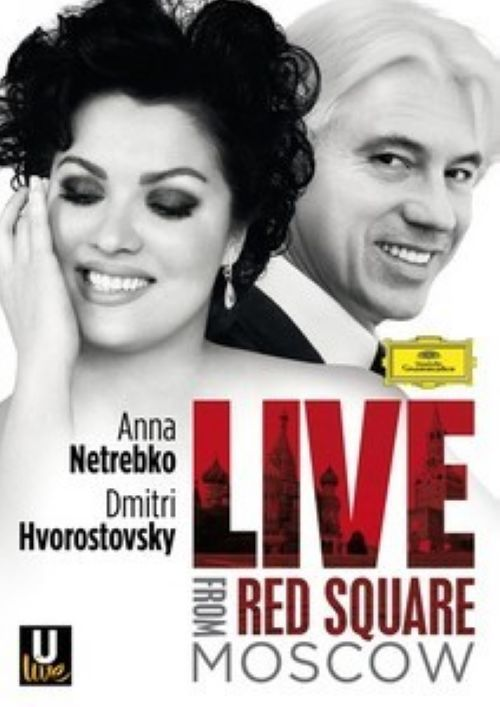 Netrebko and Hvorostovsky. Live from Red Square Moscow