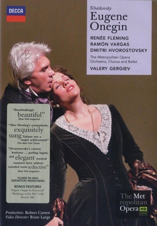 R. Fleming, D. Hvorostovsky, V. Gergiev. Tchaikovsky: Eugene Onegin 2DVD